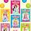 Thumbnail: 《公主换装贴贴画》女孩公主贴纸书宝宝儿童图画贴纸书(随机发1本)