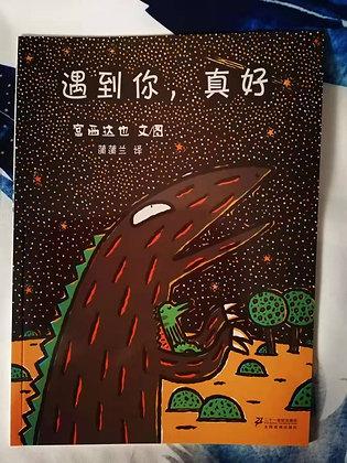《遇到你,真好》[日]宫西达也0-6岁平装畅销绘本
