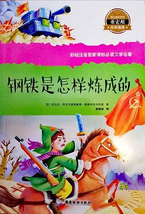 《钢铁是怎样炼成的》教育部推荐书目少儿必读世界经典彩绘注音版