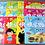 Thumbnail: 大开本《快乐贴纸》时间/数数/名车/拼音/超市/国旗/卡通/牧场/游戏(请选择)