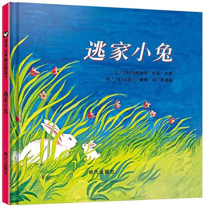 精装硬壳《逃家小兔》信谊世界精选图画书原版黑白色绘本