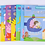 Thumbnail: 小猪佩奇趣味贴纸游戏书益智游戏迷宫书找不同涂色3-8岁(随机1本)