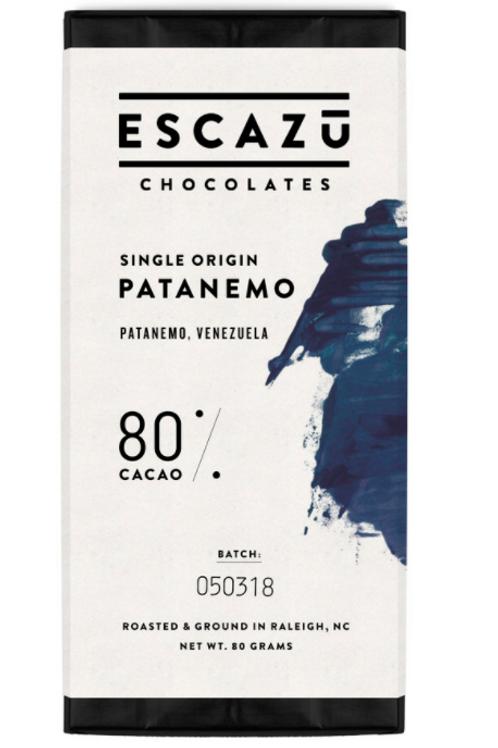 Escazu Chocolate - Patanemo 80%