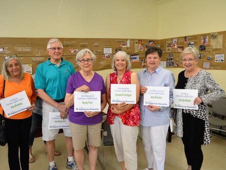 2017 Volunteer Award Winners!