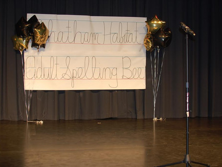 First Annual Spelling Bee was a Huge Hit!