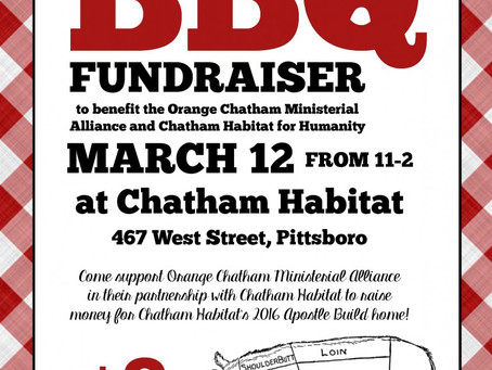 Announcing: Upcoming BBQ Fundraiser!