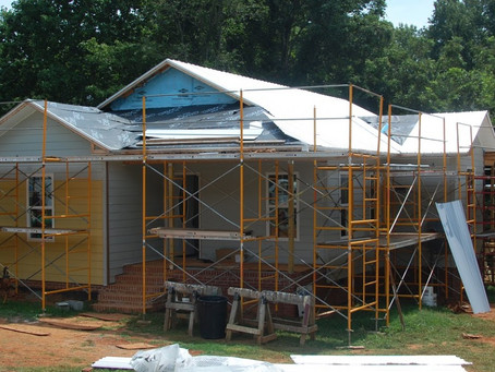 House #120's Metal Roof Installed!