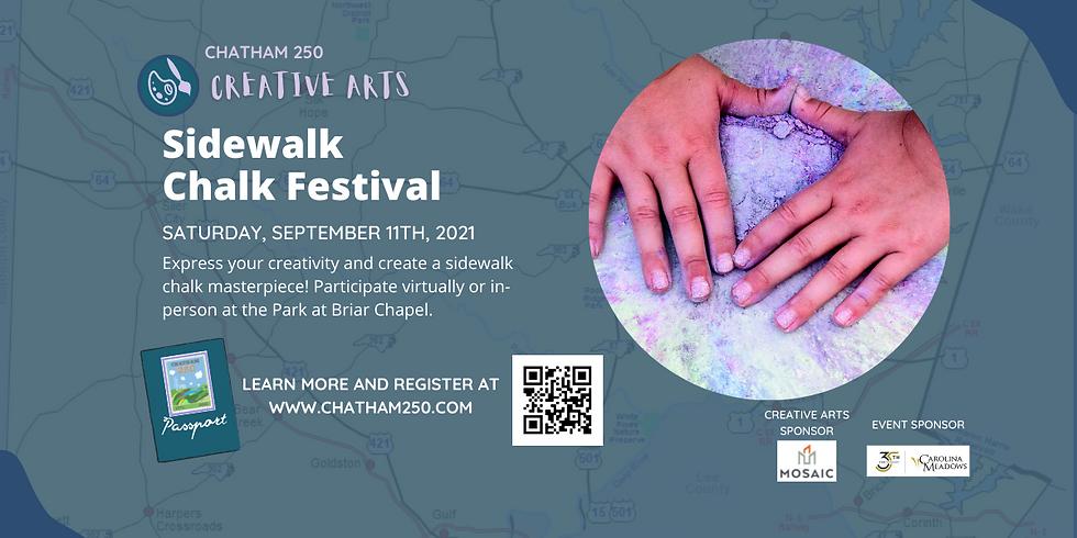 Sidewalk Chalk Festival