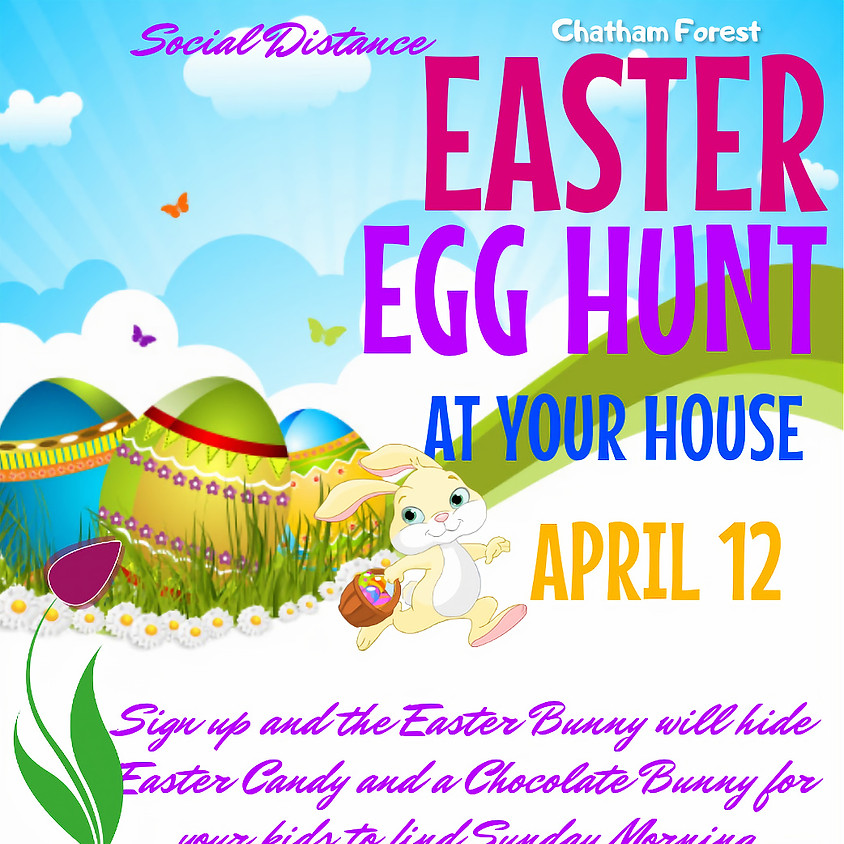 Easter Egg Hunt AT YOUR HOME