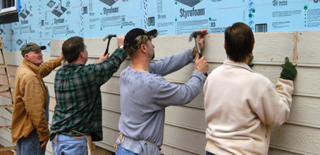 We're Looking for Specialized Siding Volunteers!