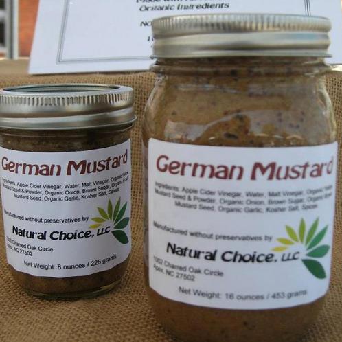 Natural Choice - Mustard