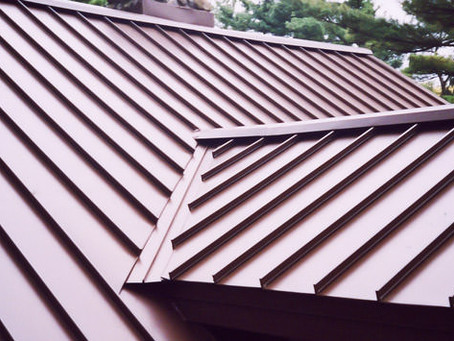 Metal Roof on House #120