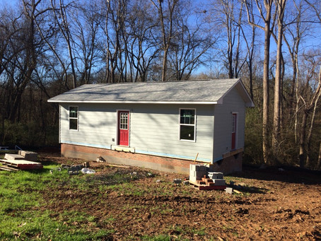 Three Homes Under Construction in Pittsboro