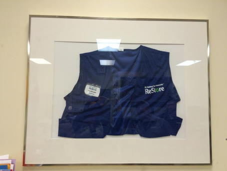 A ReStore Vest is Retired
