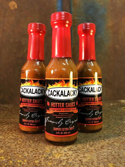 Cackalacky Spiced/Hotter Sauce
