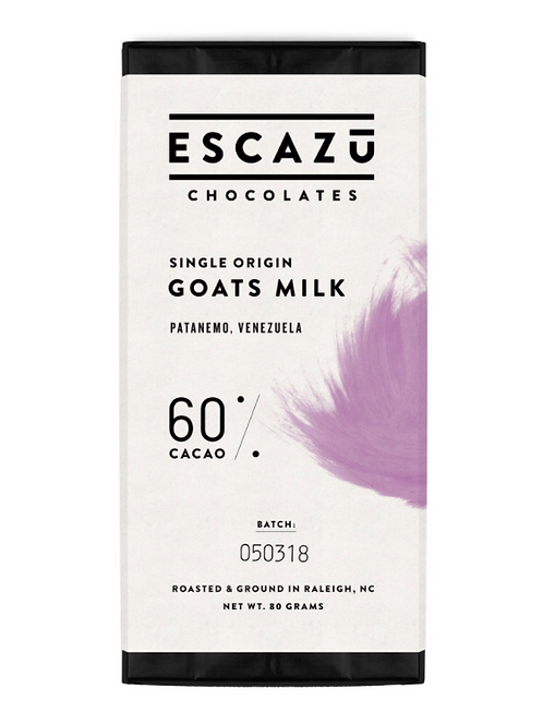 Escazu - Goat's Milk Bars