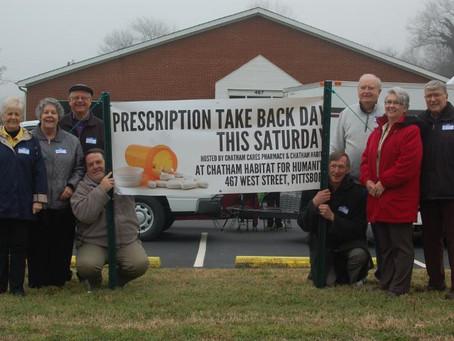 Prescription Take-Back Day a Huge Success