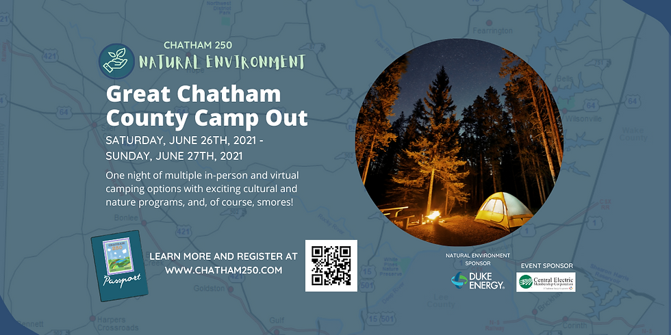 Great Chatham County Camp Out