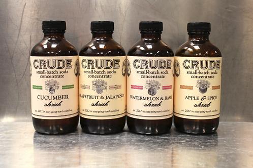 Crude Bitters & Sodas - Shrubs