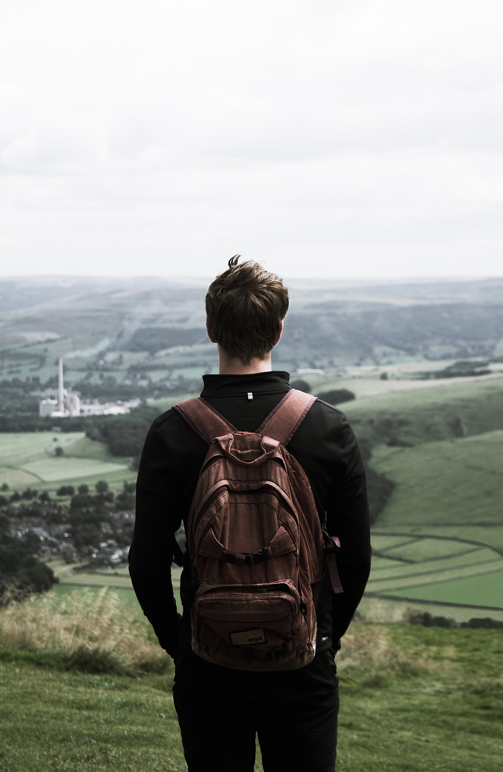 Teenage boy mindfulness looking countryside fresh air coronavirus The Parents' Guide to