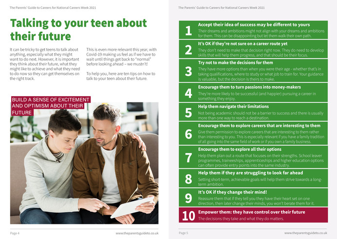 The Parents' Guide to - National Careers