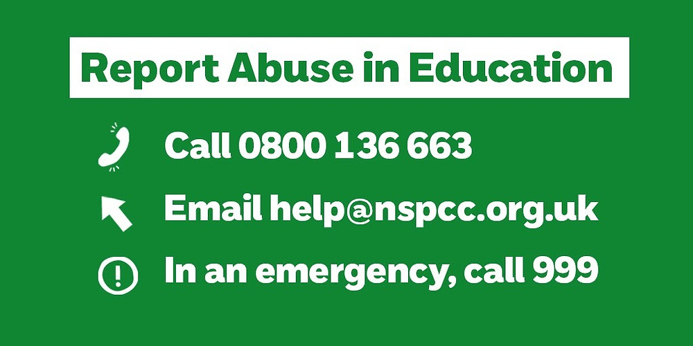 Report Abuse in Education help lines