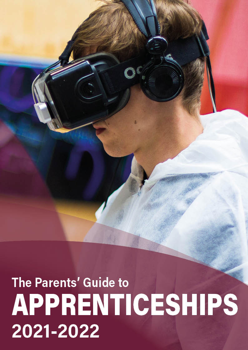 The Parents' Guide to apprenticeships front cover