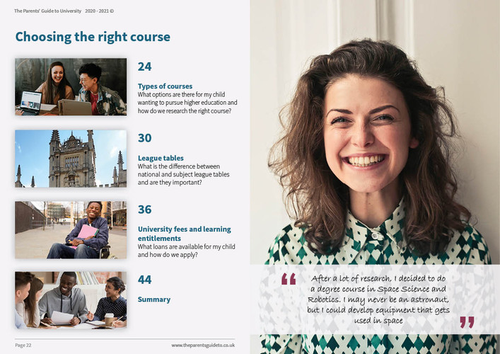 The Parents' Guide to University 202112.