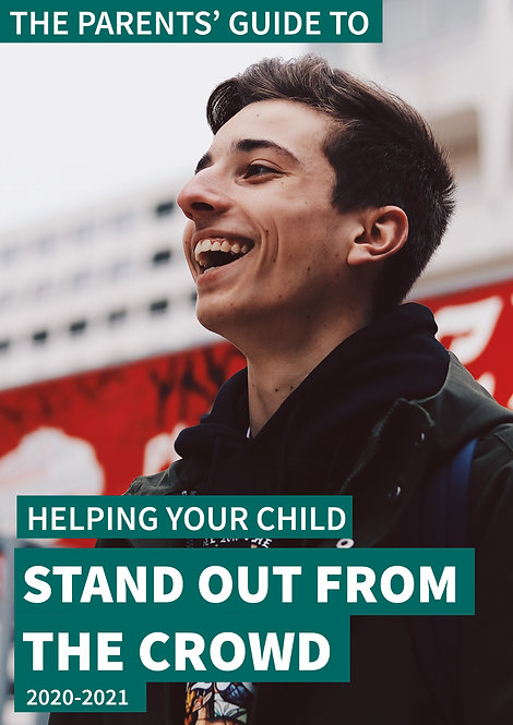 Help your child stand out in job, college, sixth-form & internship applications
