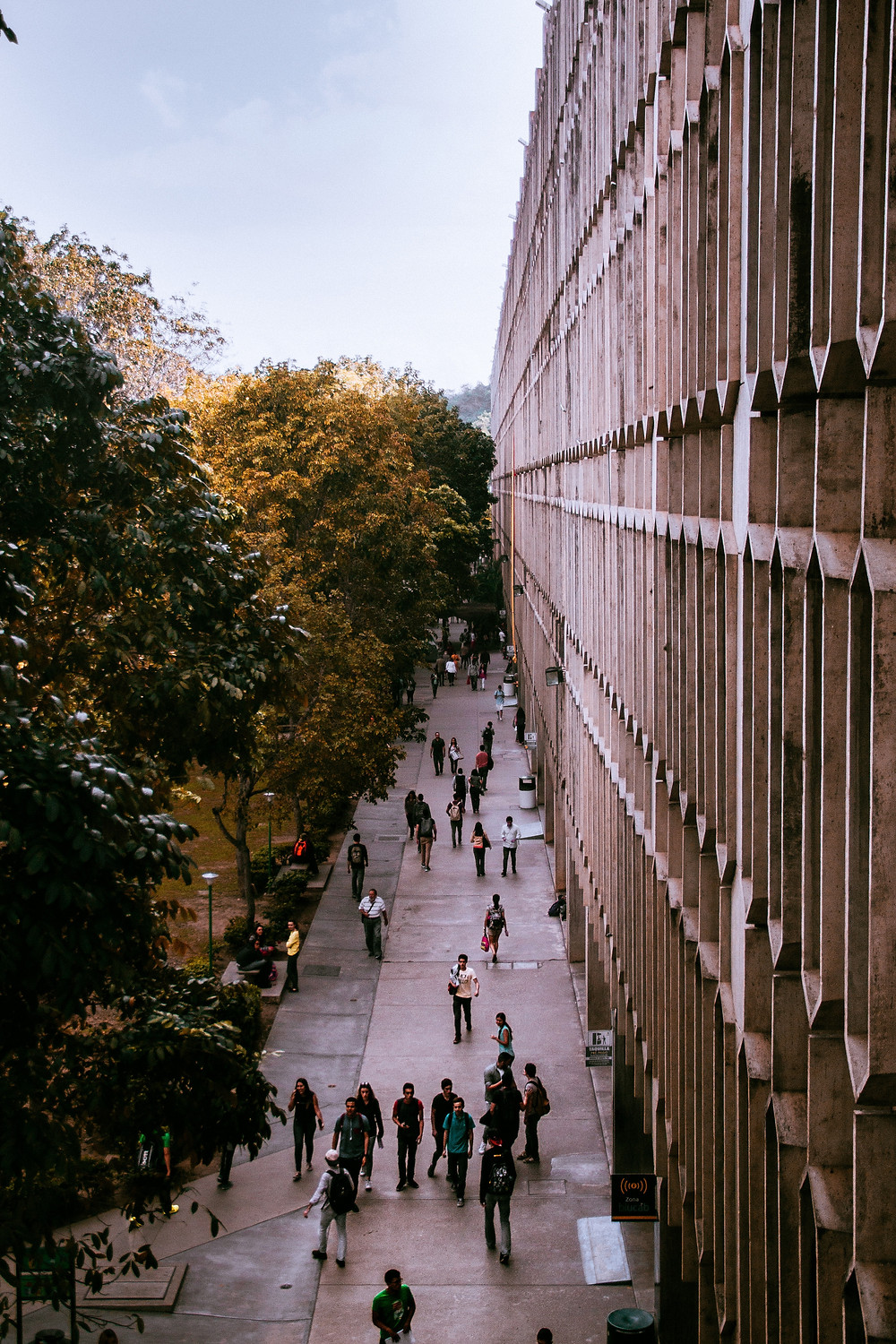 University building with students outside: The Parents' Guide to