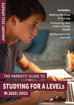 The Parents' Guide to studying for A lev