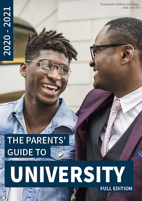 The Parents' Guide to University front cover - Everything you need to know about your child's application to university