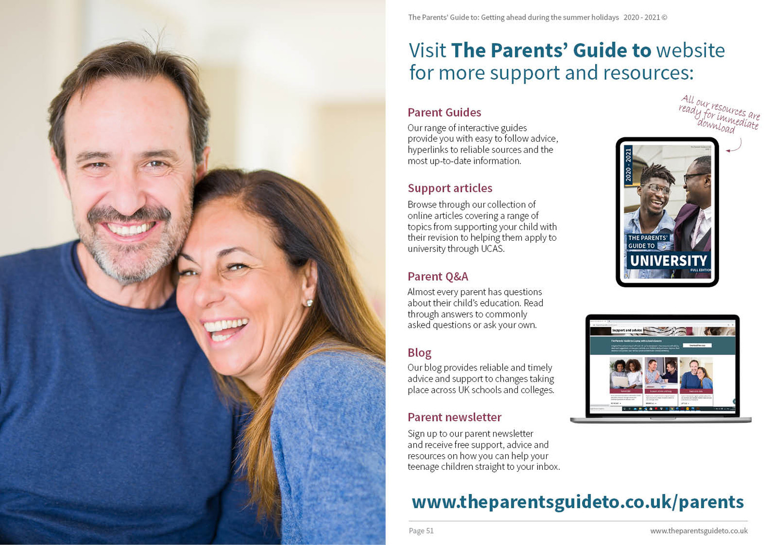 The Parents' Guide to Exploring options