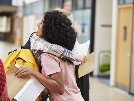 Sixth form results day and university applications - 2021