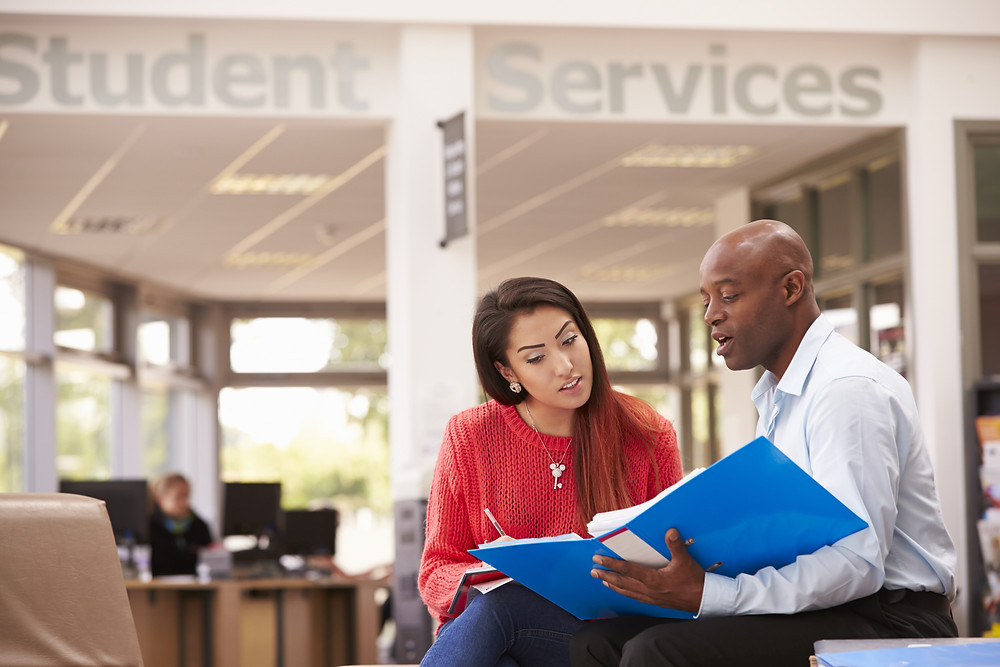 Teenage girl student services advice on apprenticeship offers: The Parents' Guide to