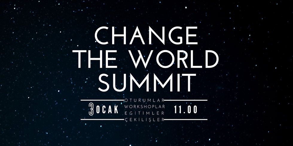 Change the World Summit (CWS'21)