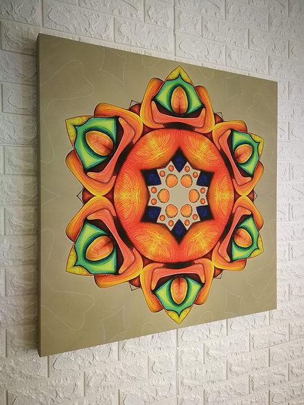 Vibrational Mandalas - Canvas Prints