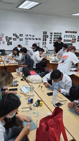 Color Theory for Communication Design Bachelor Programme at Silpakorn University International