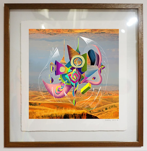 Abstract Levitations - Limited edition of 5