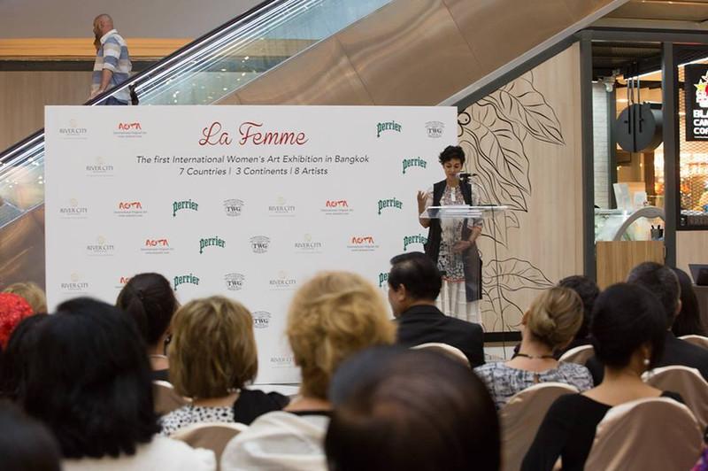 La Femme Exhibition with 40 global Ambassadors