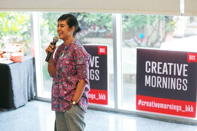Creative Mornings at Bangkok University