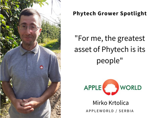 Grower spotlight: Mirko Krtolica from AppleWorld, Serbia