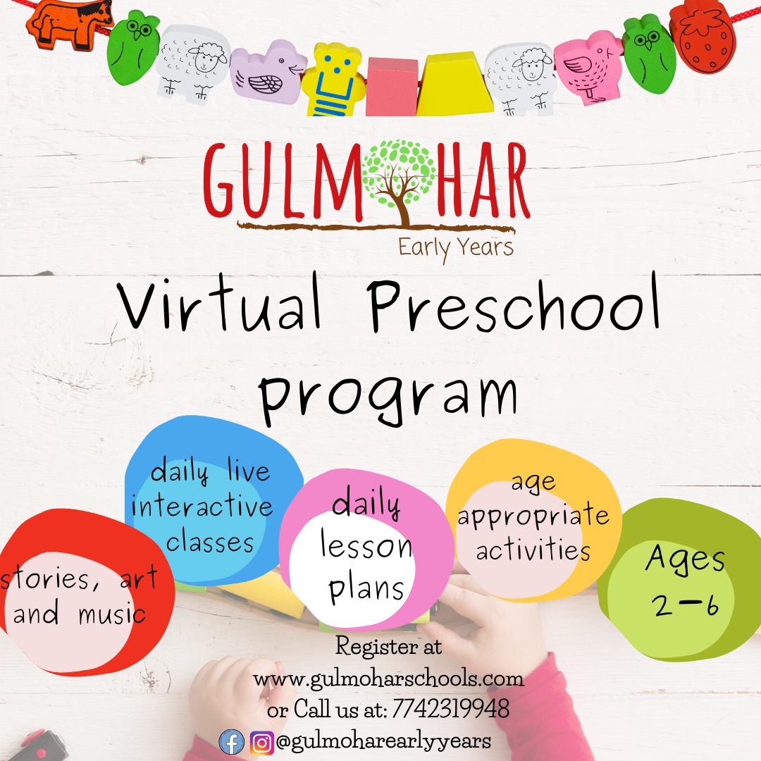 Virtual Preschool Program