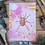 Thumbnail: Spider print - Garden spider painting - Mixed media painting
