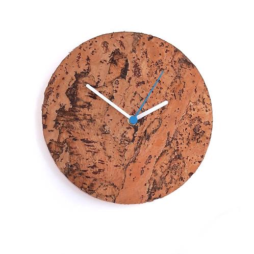 Cork wall clock