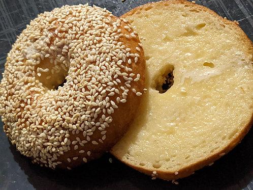 Sesame Bagels (4)