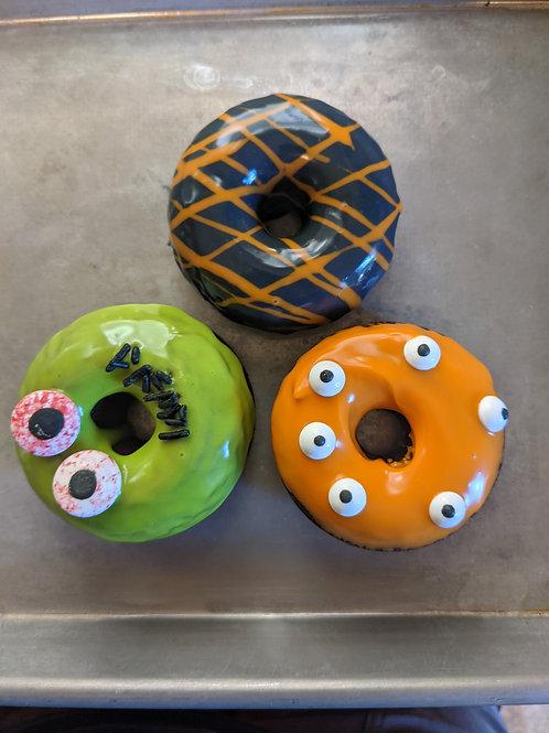 Halloween chocolate donuts (4)