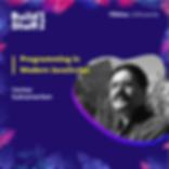 Venkat Subramaniam - Programming in Modern JavaScript