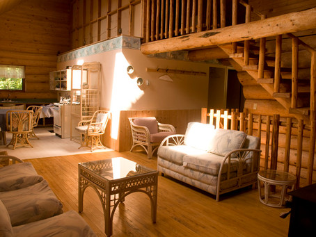 Congratulations to Maureen Straza who won our Log Home winter weekend getaway at the Williams Lake P