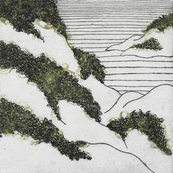 Landscape's fragment Series19